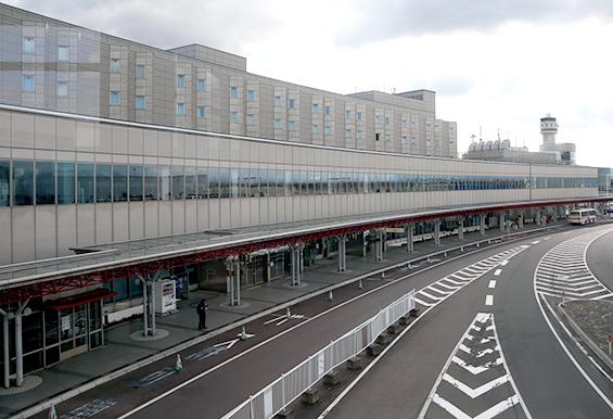 新千歳空港国内線ターミナル 平成26年3月設置